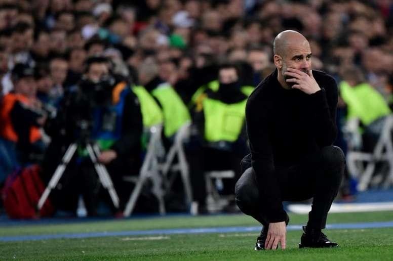 Guardiola cauteloso para a partida de volta. AFP