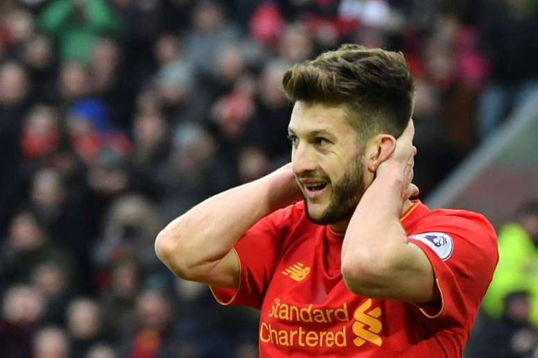 Adam Lallana could swap the Premier League for Ligue 1. AFP