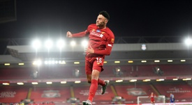 Alex Oxlade-Chamberlain scored in Liverpool's 5-3 win over Chelsea. AFP