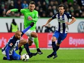 Brooks cambiará su actual equipo por el Wolfsburgo. AFP