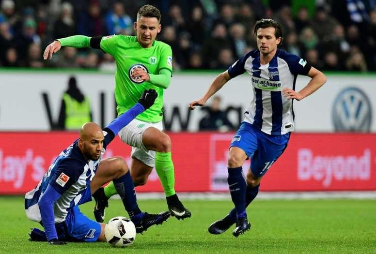 El Wolfsburgo logró vencer por la mínima al Eintracht. AFP/Archivo