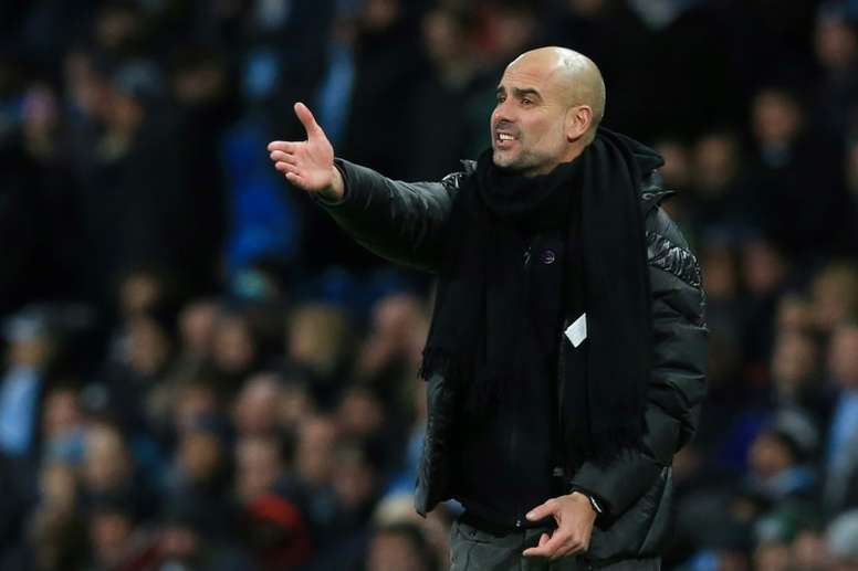 Guardiola admits Man City standards have slipped. AFP