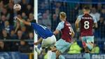 El 'Huracán Everton' arrasa al Burnley en siete minutos