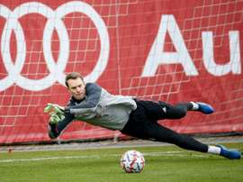 Manuel Neuer will not take part in Bayern's Champions League match with Atletico Madrid. AFP