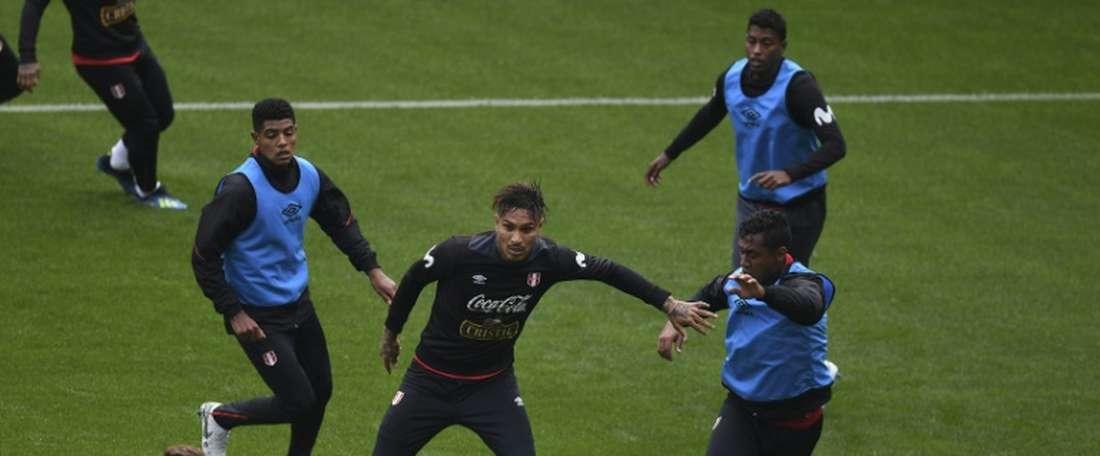 Au Pérou on a peu d'espoirs face à la France. AFP