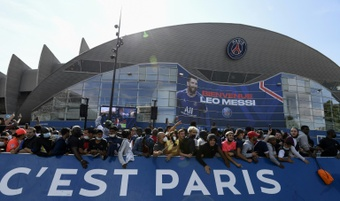 PSG will present their new signings at the Parc des Princes this Saturday. AFP