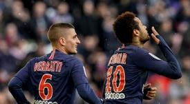 Verratti spiega perché Neymar avrebbe tentato di tornare al Barça. AFP