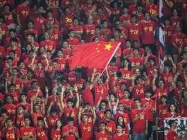 Le football obligatoire au collège en Chine. AFP