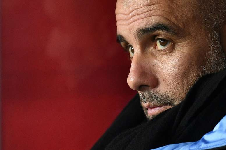 Guardiola admits he could lose his job as City boss if they get knocked out by RM. AFP