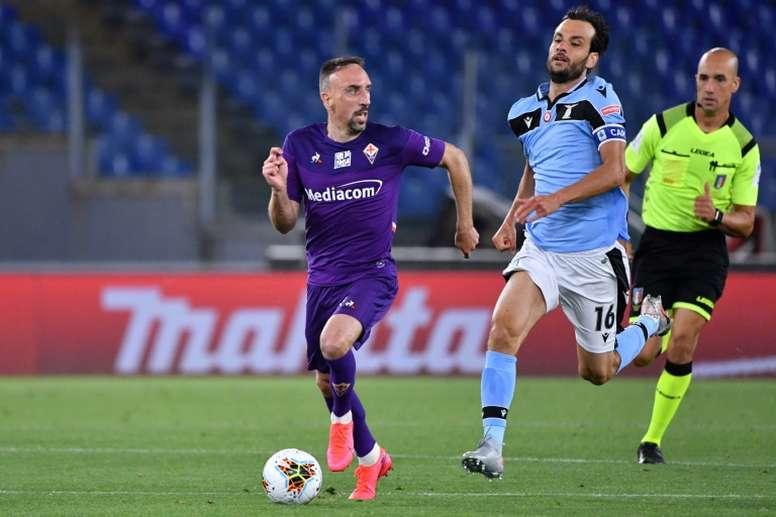 Le formazioni ufficiali di Fiorentina-Sassuolo. AFP