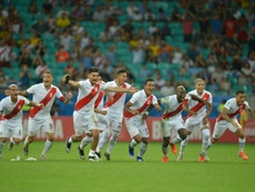 Peru will go through to the semi-final against Chile after a dramatic penalty shootout. AFP