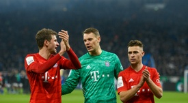 La Bundesliga tiene claro que la temporada debe acabar en el campo. AFP