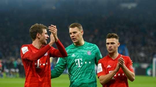 Bayern está na semifinal da Copa da Alemanha e busca mais um título. AFP
