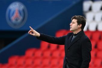 Pochettino explicó lo sucedido con Messi. AFP