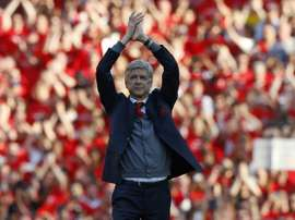 Wenger will end his 22-year tenure at Arsenal. AFP