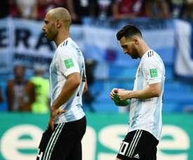 Messi doit revenir avec l'Argentine. AFP