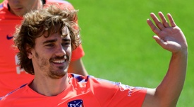 Griezmann claims he was told he had to say farewell in a video. AFP