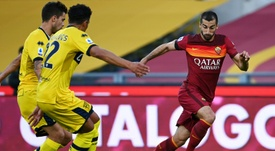 La Roma quiere blindar a un Mkhitaryan que está 'on fire'. AFP