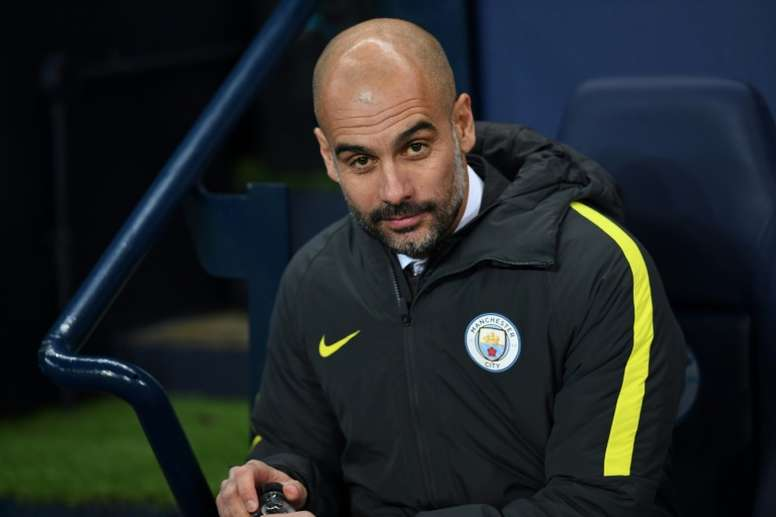 Guardiola insists that City must attack. AFP