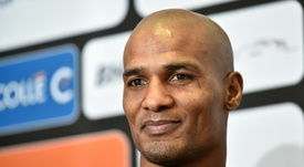 Malouda was banned for previously having played with France. AFP