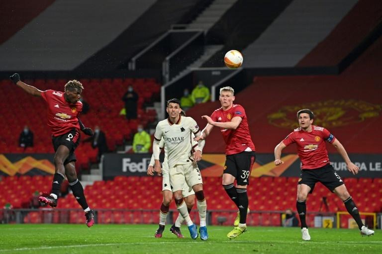 Cronica Manchester United-Roma, semifinales de la Europa League