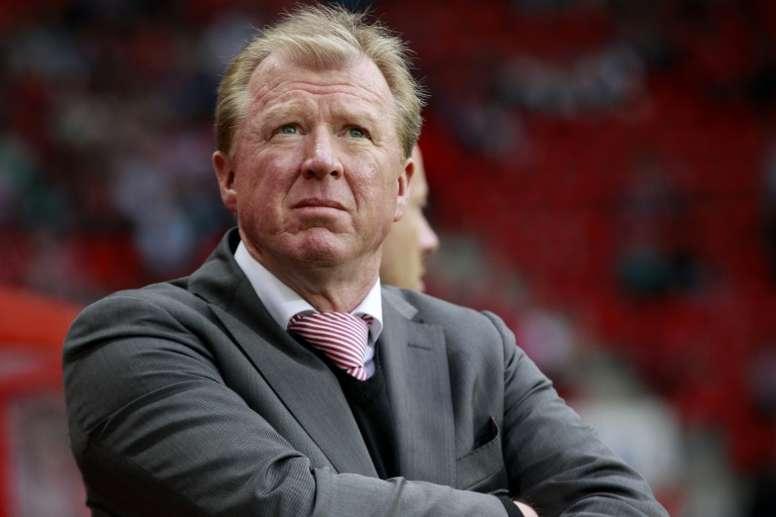 McClaren podría ser el próximo técnico del Birmingham. AFP