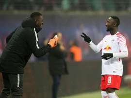 Keita on target as Leipzig beat Augsburg