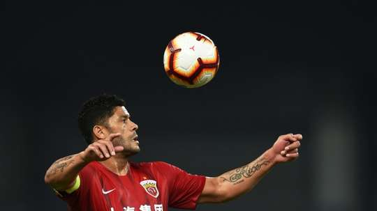 Hulk wants to return to Porto in December. AFP