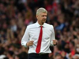 Wenger insists he is relaxed about expiring contracts. AFP