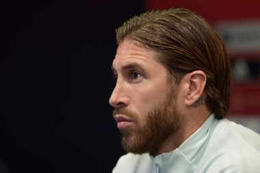 Ramos bought a kitchen and a bathtub for his grandmother on his first salary. AFP