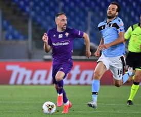 Ribery will stay at Fiorentina. AFP