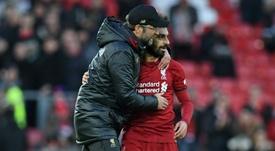 Klopp analizó el buen momento que vive el Liverpool. AFP