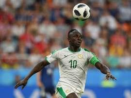Le Sénégal s'impose. AFP