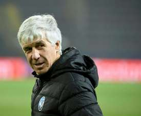 Gasperini is angry at suggestions he hid coronavirus while in Valencia. AFP