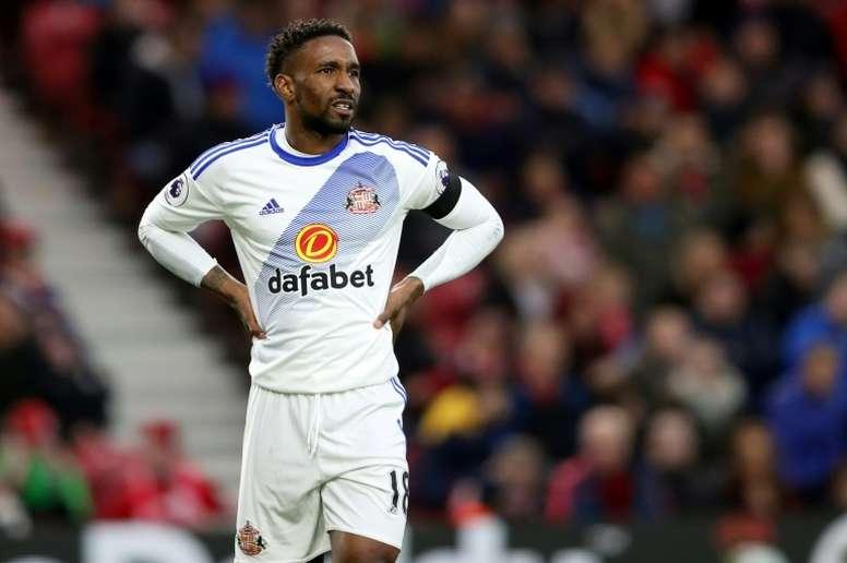 El delantero del Sunderland está en la agenda de los 'cherries'. AFP