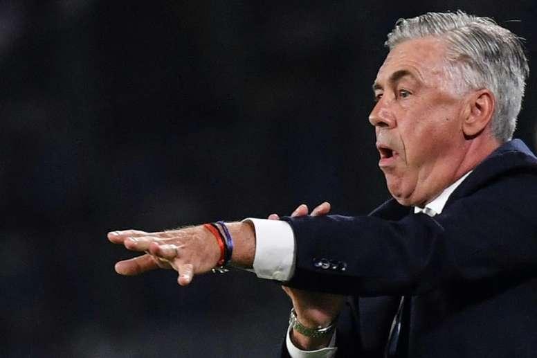 La prolongation d'Ancelotti se fera en début d'année 2020. AFP