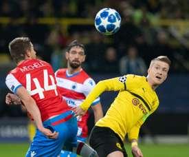 Dortmund drew. AFP