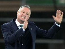Michael O'Neill got off to the perfect start as Stoke manager. AFP