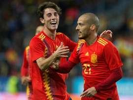 En el amistoso que enfrentará a España ante Bosnia. AFP