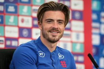 Aston Villa chegou a oferecer Grealish ao Real.AFP