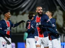 PSG beat Angers to go top of Ligue 1 without Pochettino. AFP