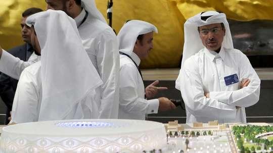 Qatar confirms first virus cases at World Cup sites. AFP