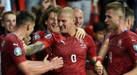 República Checa estará en la Euro 2020. AFP