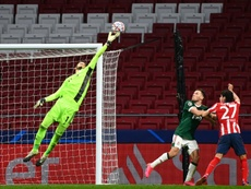 Atletico Madrid were unable to score against Lokomotiv Moscow in the Champions League. AFP