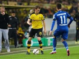 Paderborn - Borussia Dortmund: onzes iniciais confirmados. AFP