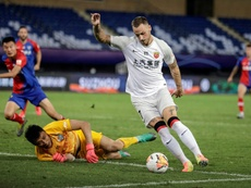 Unfit, poor diet: Arnautovic 'underestimated' Chinese football. AFP