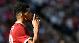 Solanke is being monitored by Huddersfield Town. AFP