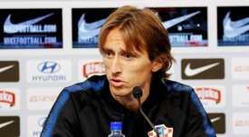 Croatia captain Luka Modric says home fans will help against Spain. AFP