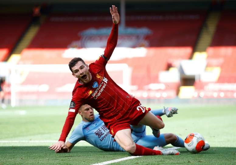 Liverpool drew 1-1 with Burnley. AFP