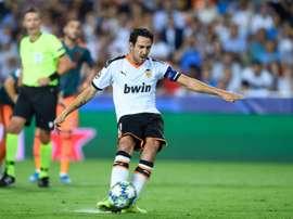 Parejo se dirige vers son 350e match avec Valence. AFP